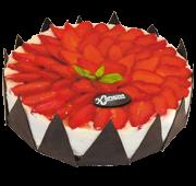 Торт «Полунично-вершковий»