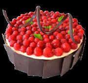 Торт «Малиновий»