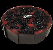 Торт «Пісний з ягодою»